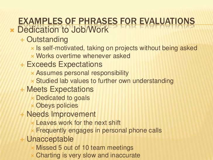 Nursing Evaluation Comments Examples Fresh Nursing Evaluations Ppt