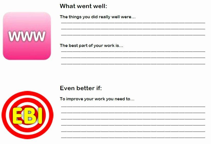 Nursing Peer Review Template Elegant Peer assessment