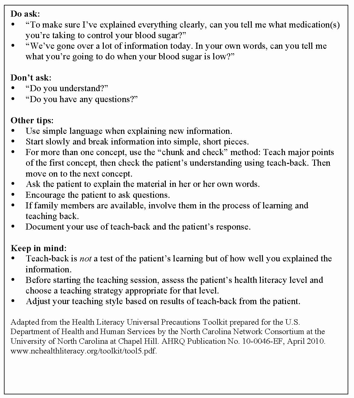 Nursing Teaching Plan Examples New Patient Education Tips for Developing Nursing Research
