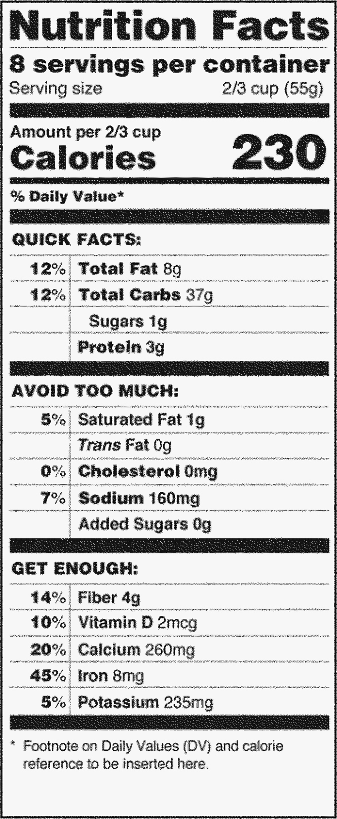 Nutrition Facts Label Template Awesome Nutrition Label Template Blank