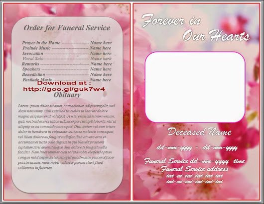 Obituary Templates Free Downloads Awesome Obituary Template for Microsoft Word Free Download orchid
