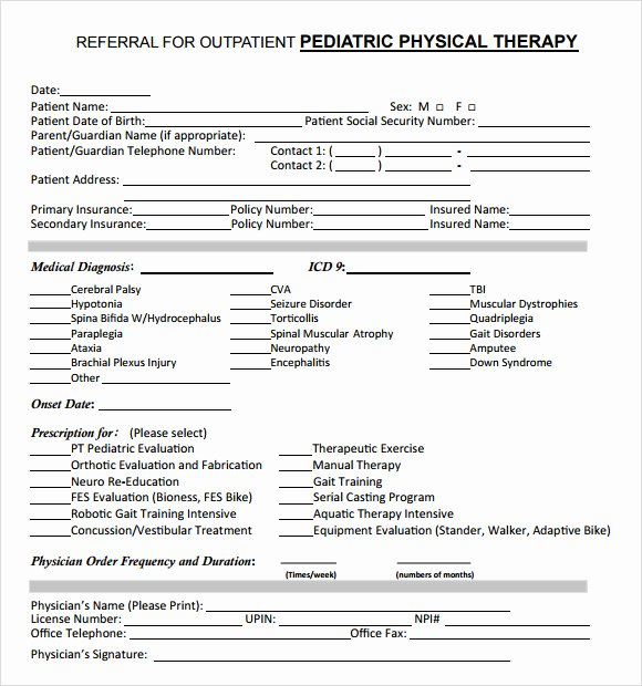 Occupational therapy Treatment Plan Template Beautiful therapy Treatment Plan Template Bing