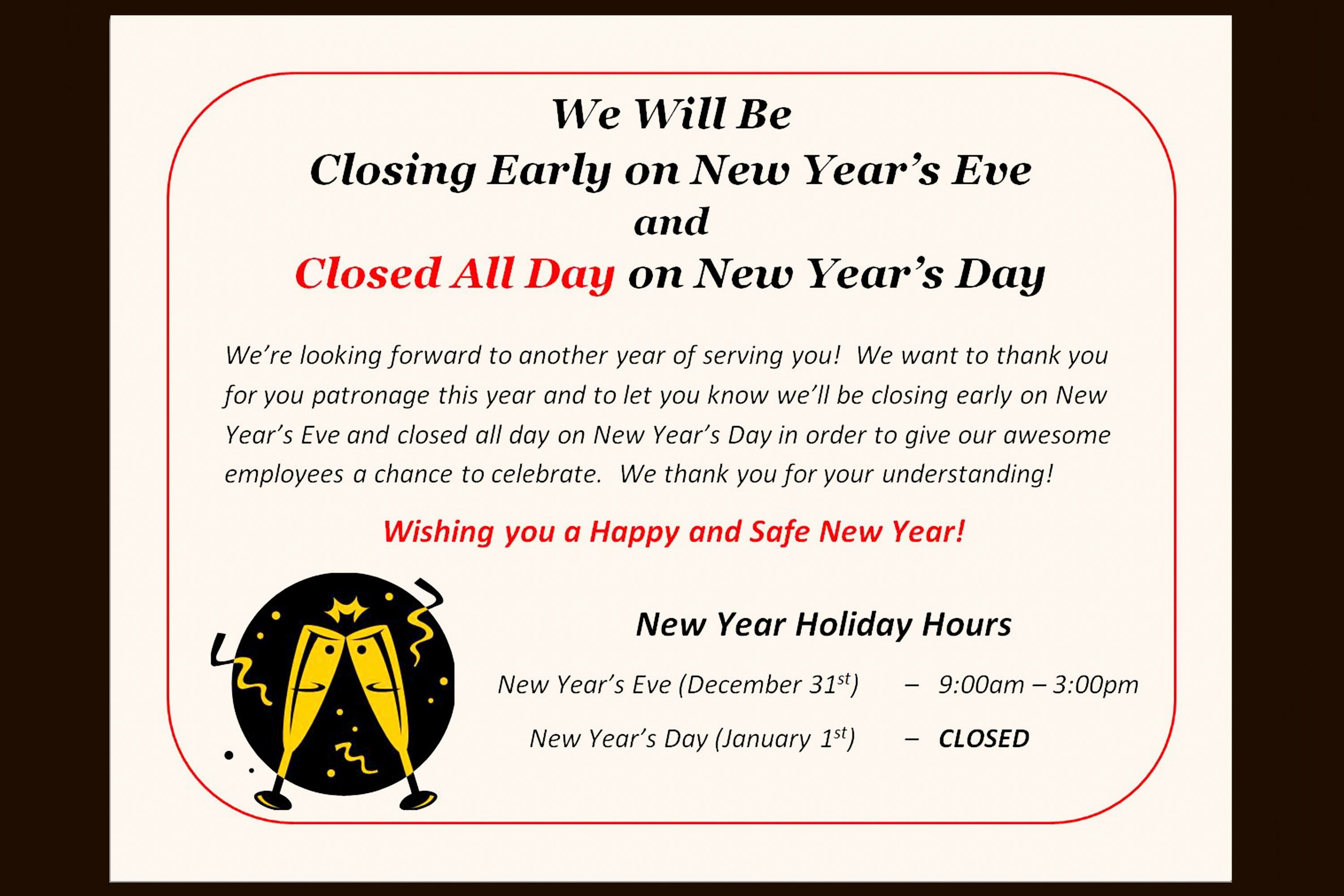 Office Closed Sign Template Awesome How to Post A Sign for the Observance Of A Holiday