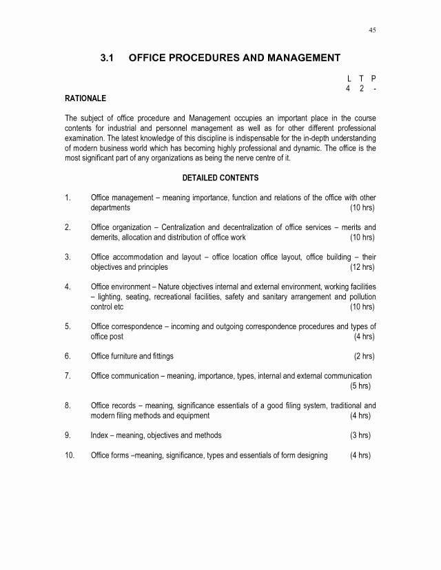 Office Procedures Manual Template Best Of Fice Procedures Manual Template Free Download