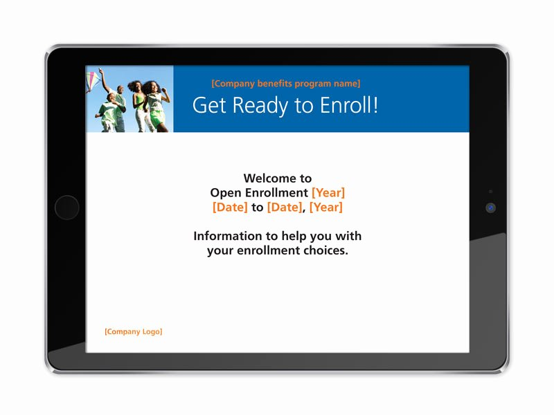 Open Enrollment Announcement Template Awesome Open Enrollment toolkit – Trion Munications