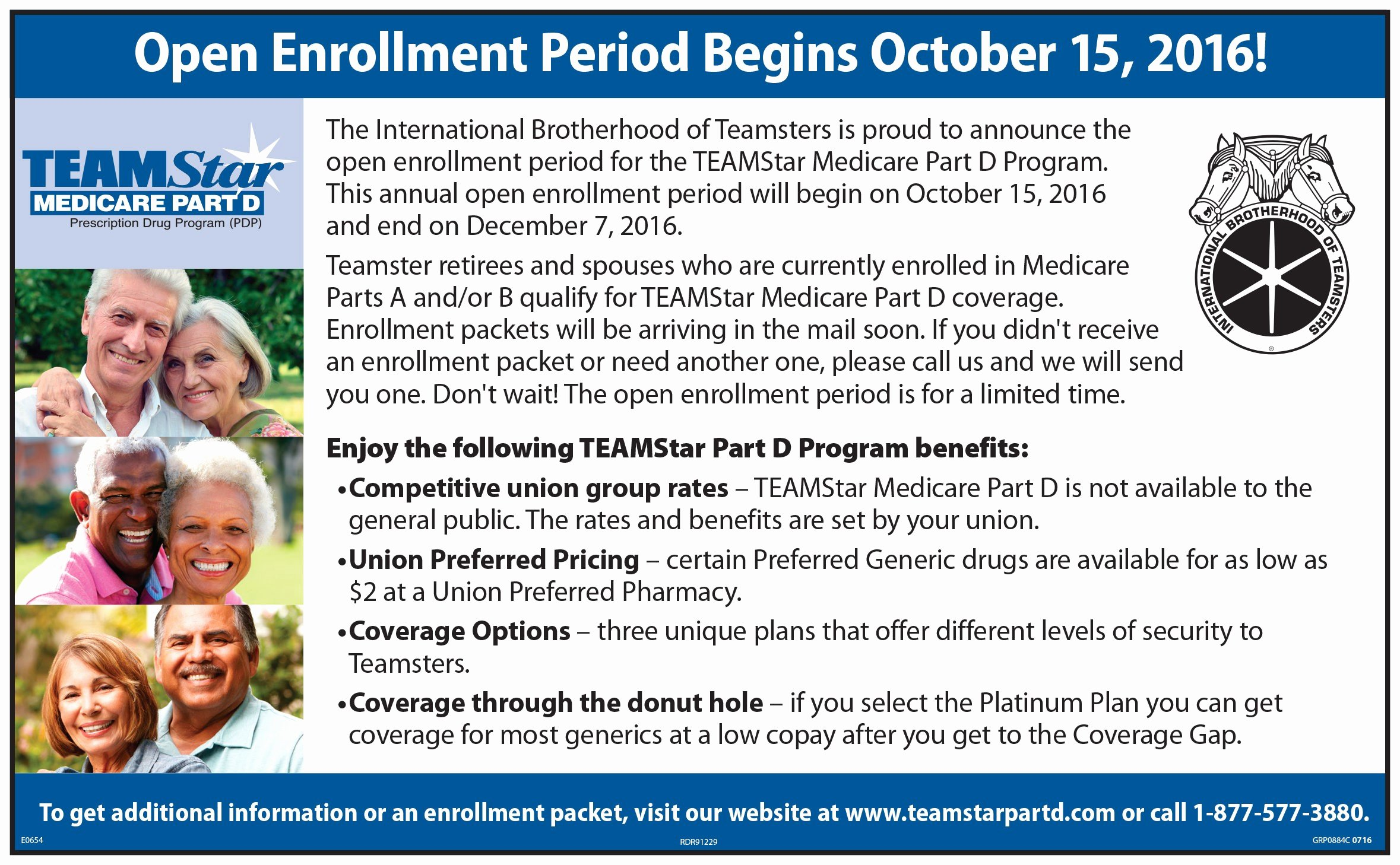 Open Enrollment Announcement Template Luxury Announcement for Medicare Eligible Blet Members and Retirees