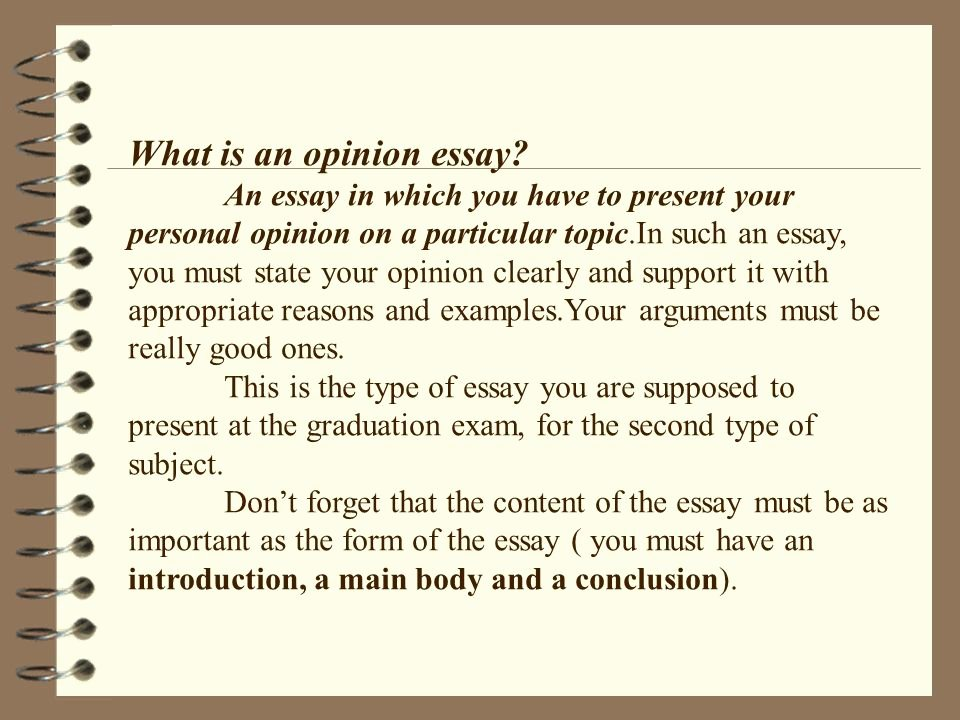 Opinion Editorial Essay Example Inspirational Writing An Opinion Essay Ppt Video Online