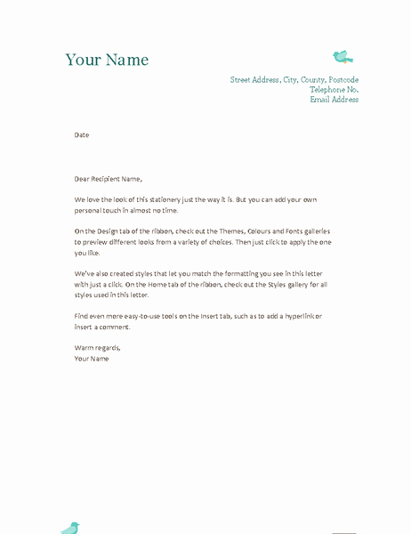 Outlook Stationery Templates Free Download Inspirational Download Free Microsoft Outlook Letterhead Templates