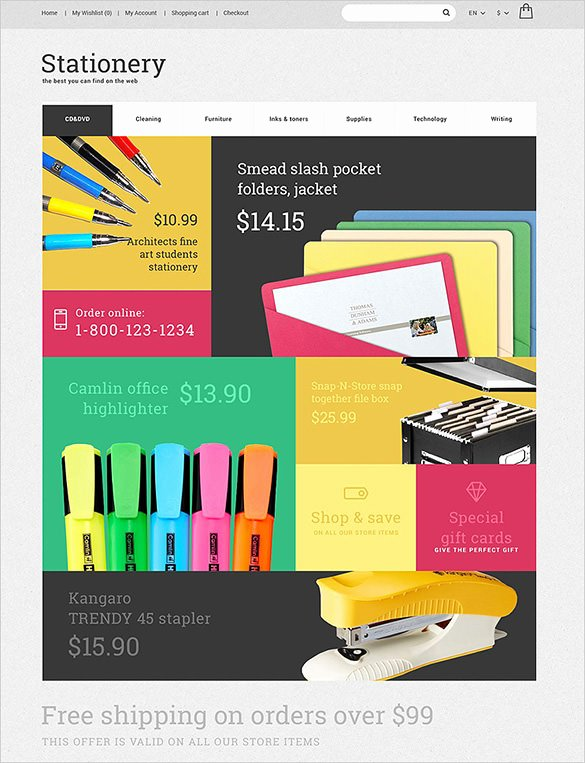 Outlook Stationery Templates Free Download Lovely 5 Stationery Opencart themes & Templates