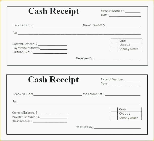Paid In Full Receipt Template Free Unique 40 Priceless Printable Receipts for Payment