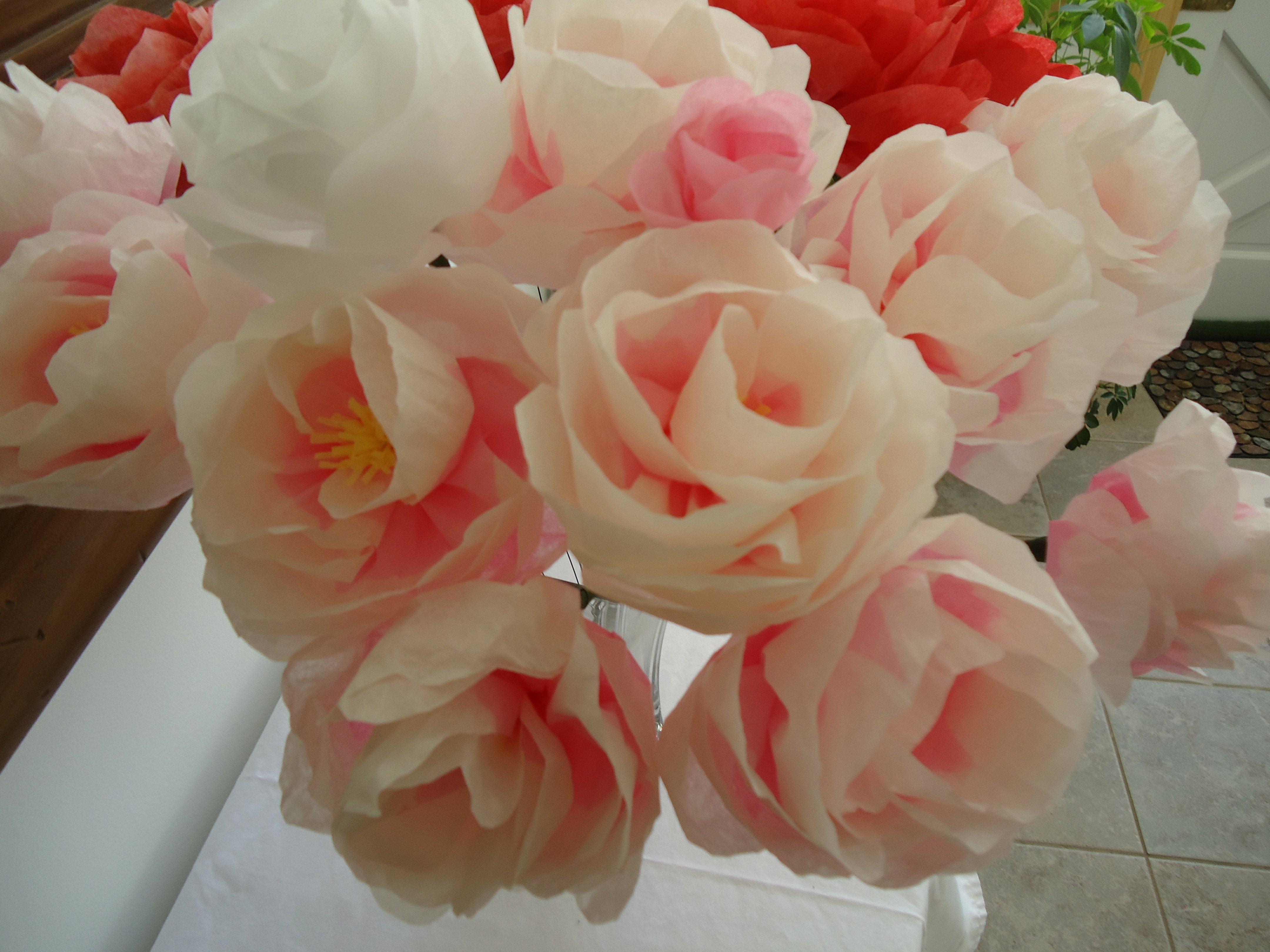 Paper Flower Template Martha Stewart Beautiful 16 Best S Of Diy Tissue Paper Roses Diy Sewing