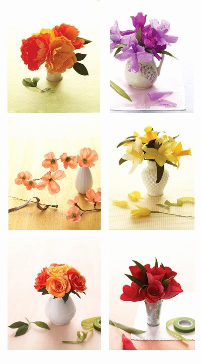Paper Flower Template Martha Stewart Beautiful Martha Stewart Crepe Paper Flowers Paper Crave