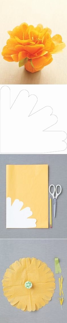 Paper Flower Template Martha Stewart Luxury This is too Cute Wrapping Idea You Could Use for
