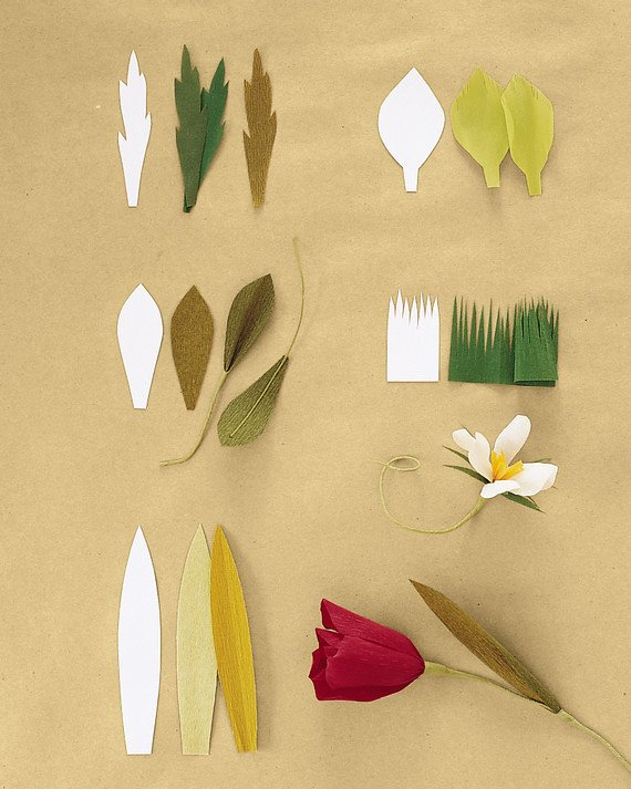 Paper Rose Template Martha Stewart Luxury How to Make Crepe Paper Flowers