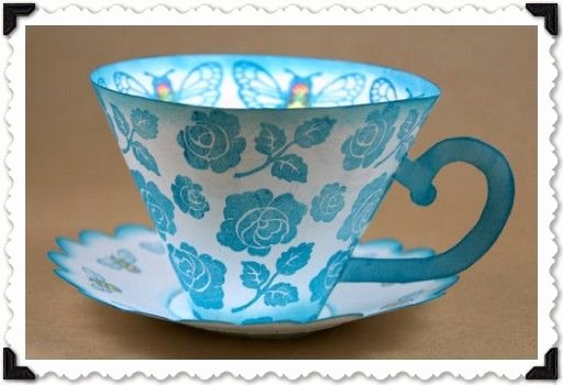 Paper Tea Cup Template Awesome Pinterest • the World's Catalog Of Ideas