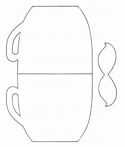 Paper Tea Cup Template Elegant 17 Best Images About Tea Cup Crafts On Pinterest