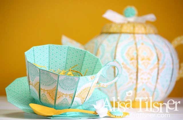 Paper Tea Cup Template Unique Teapot and Teacup Alisa Tilsner
