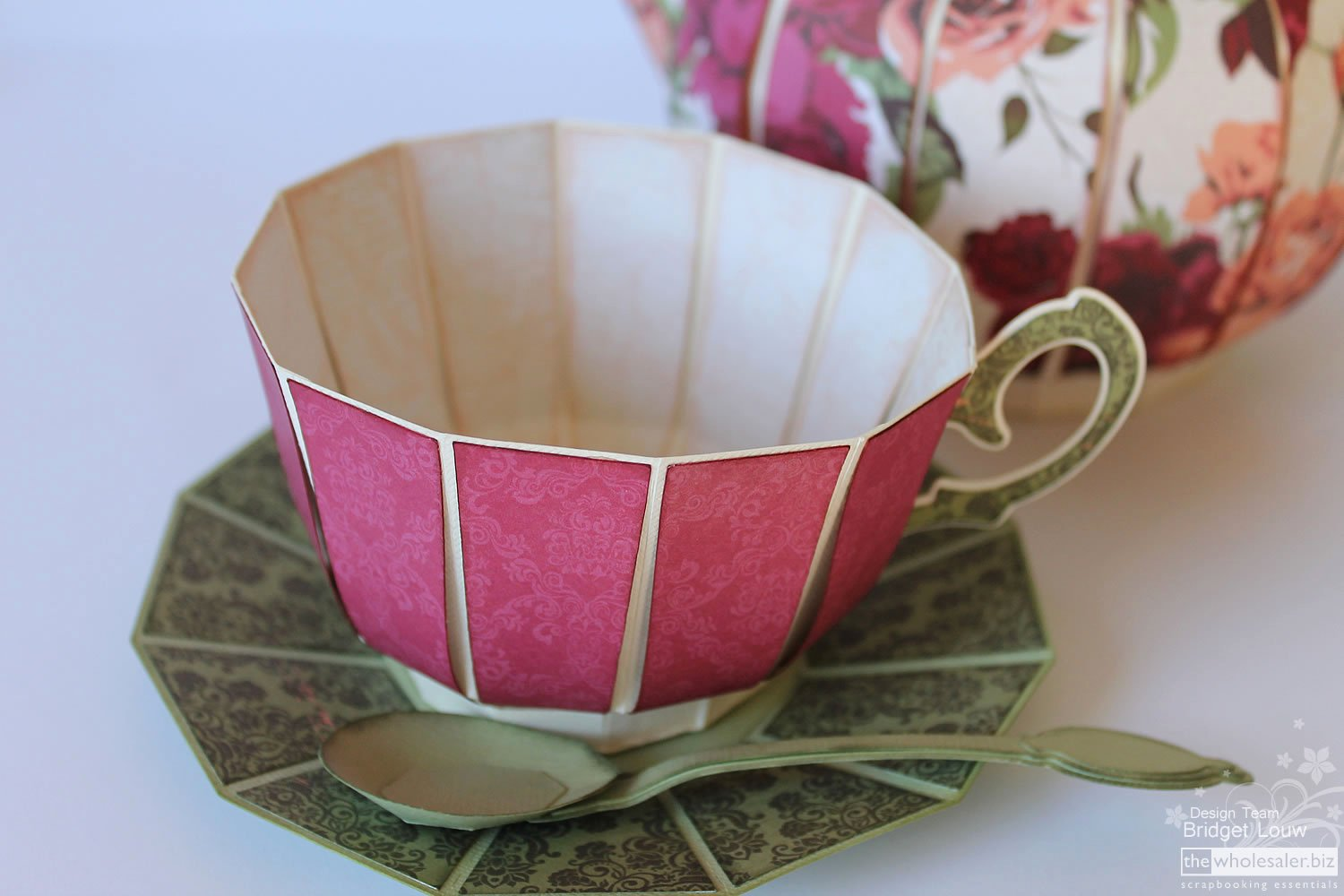 Paper Teacup Template Awesome 16 Best S Of Make Paper Tea Cups Paper Tea Cup
