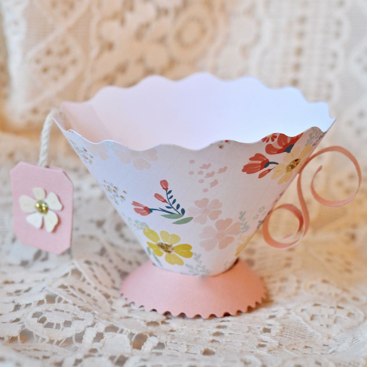 Paper Teacup Template Awesome Paper Teacup Party Favor Make Life Lovely