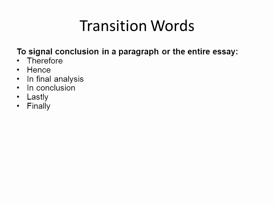 Paragraph Transition Words for Essays Best Of Writing A Multi Paragraph Essay Ppt Video Online