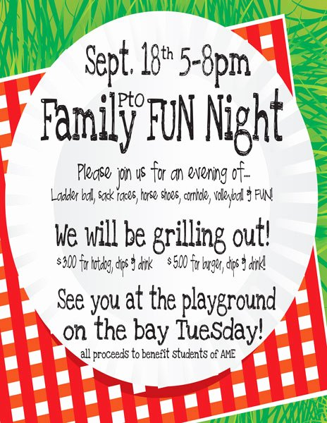 Parents Night Out Flyer Template Best Of Family Science Night Flyer Template Driverlayer Search