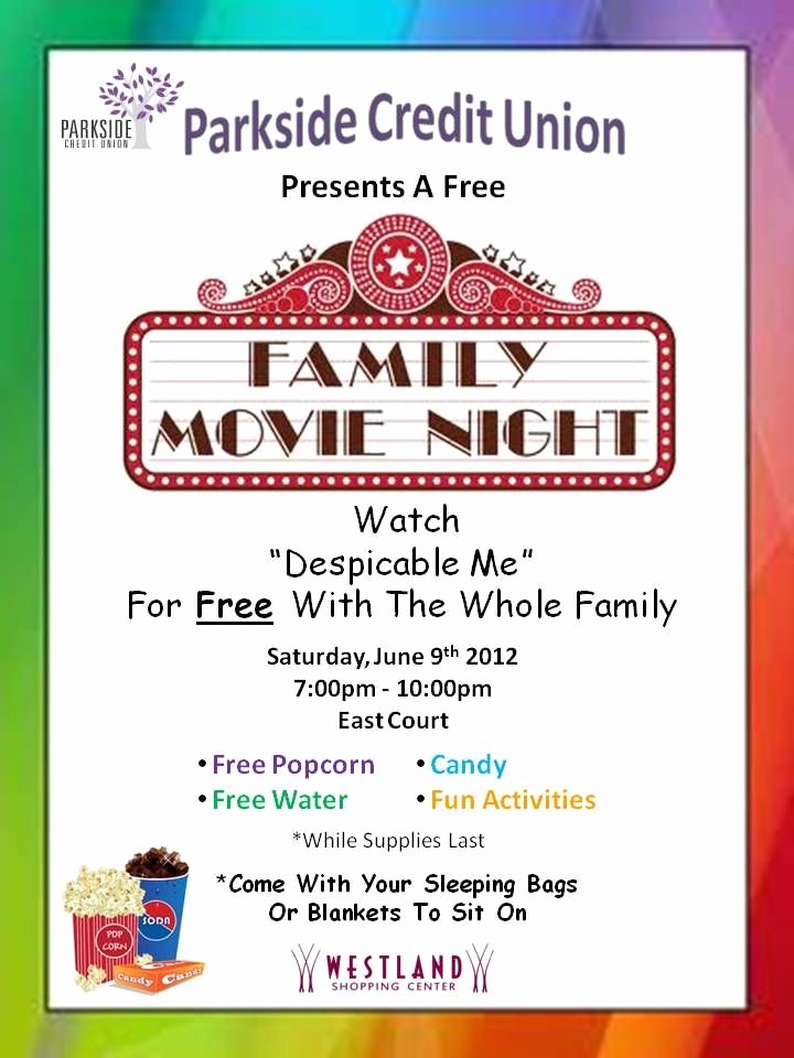 Parents Night Out Flyer Template Unique 33 Awesome Movie Night Template Flyer Free Images