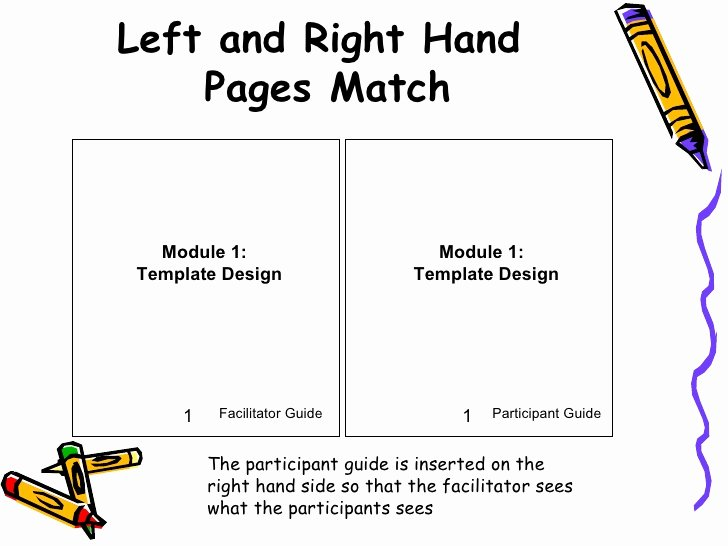 Participant Guide Template Beautiful Fg Template