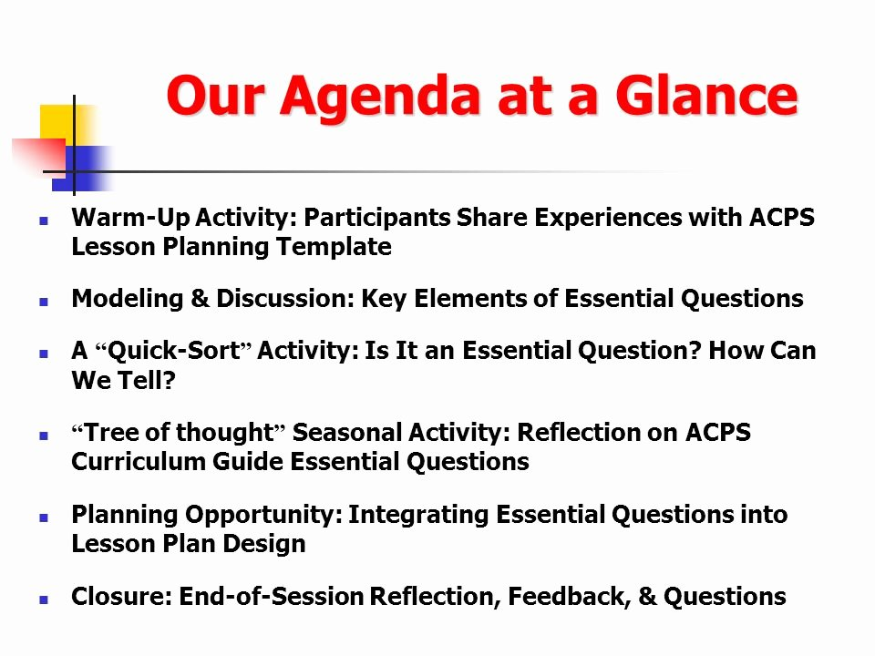Participant Guide Template Best Of Using Essential Questions to Promote Student Discourse