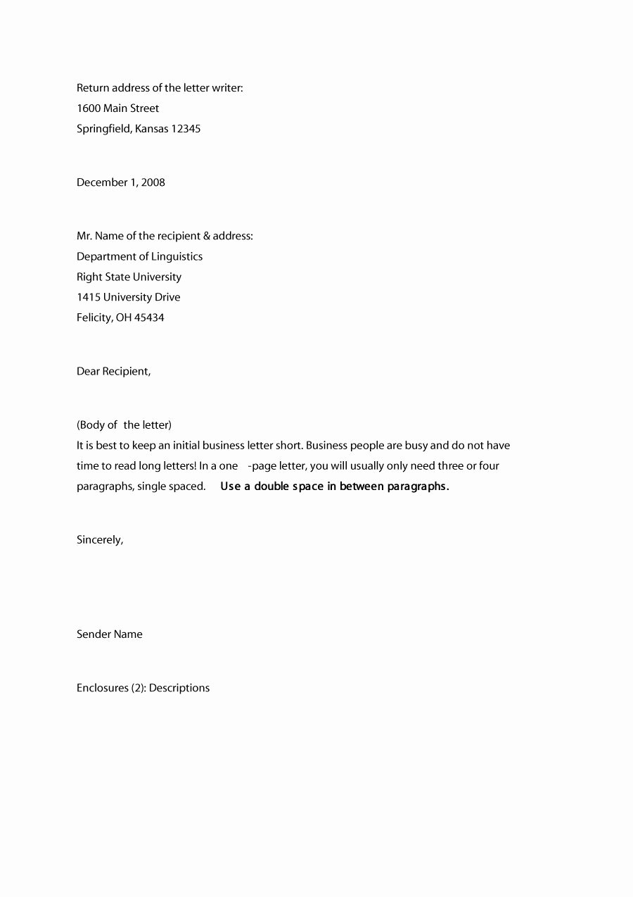 Partnership Letter Sample Best Of 35 formal Business Letter format Templates & Examples