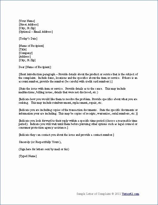 Partnership Letter Sample Luxury Download the Plaint Letter Template From Vertex42
