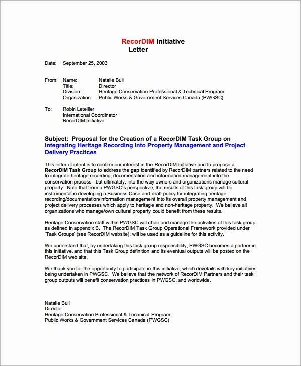 Partnership Letter Sample New 38 Sample Business Proposal Letters Pdf Doc