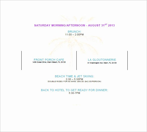 Party Agenda Template Elegant Party Agenda Template 10 Free Word Excel Pdf format