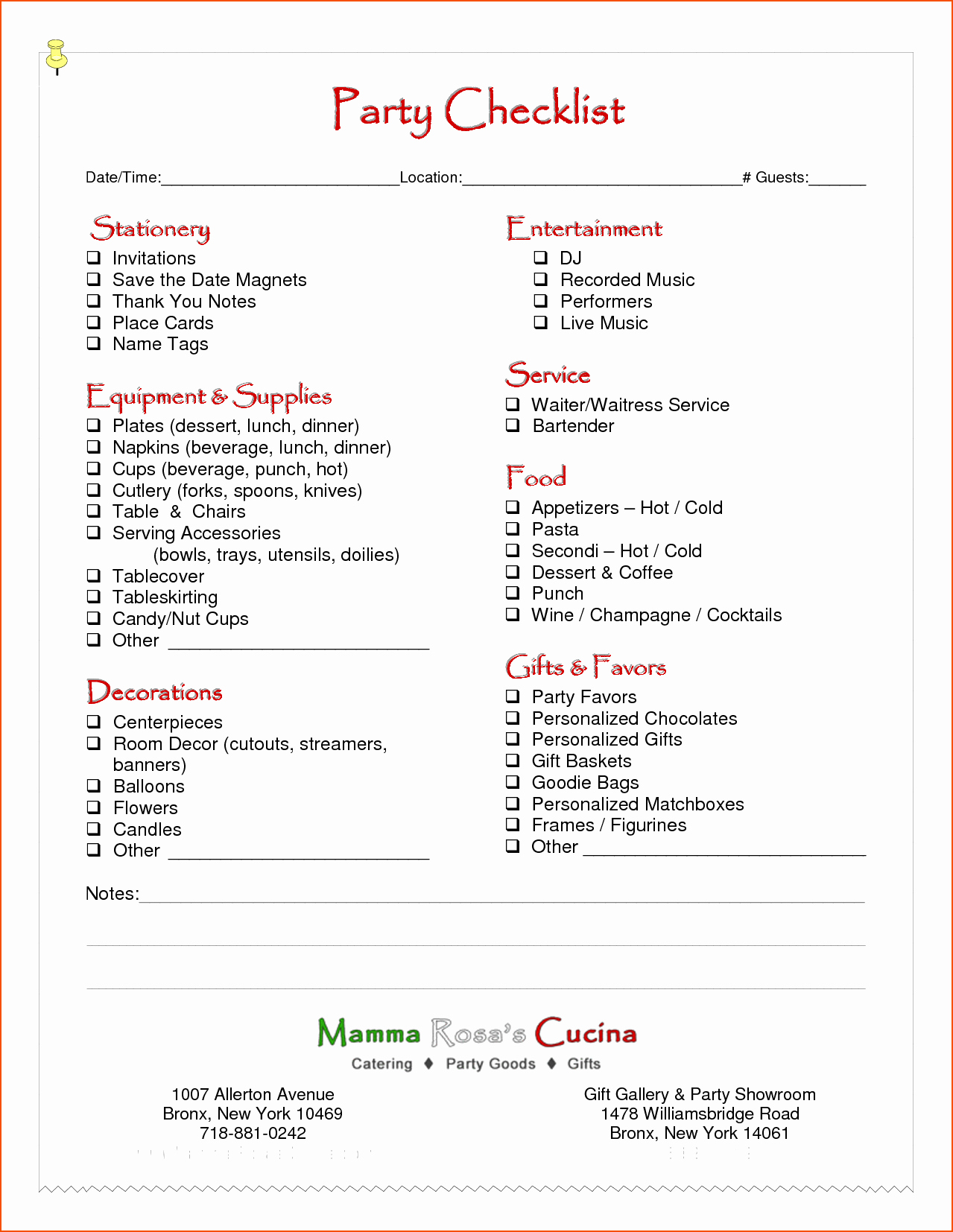 Party Agenda Template New 6 Party Planning Template Bookletemplate
