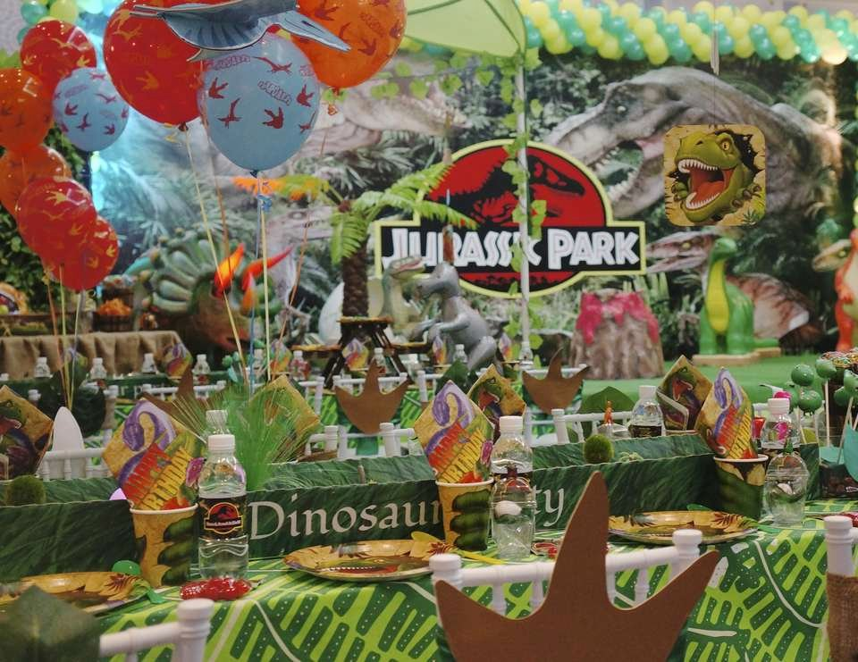 "Party City Dinosaur Party Beautiful Dinosaurs Birthday ""jurassic Park"""