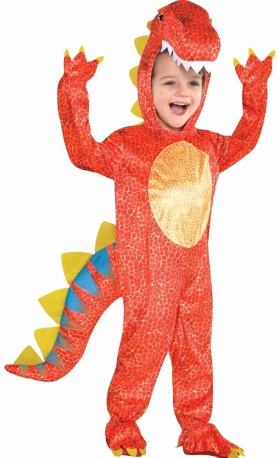 Party City Dinosaur Party Beautiful toddler Boys Dinomite Dinosaur Costume Party City