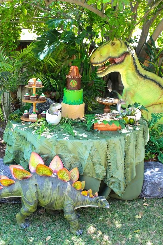 Party City Dinosaur Party Elegant southern Blue Celebrations Dinosaur Party Ideas