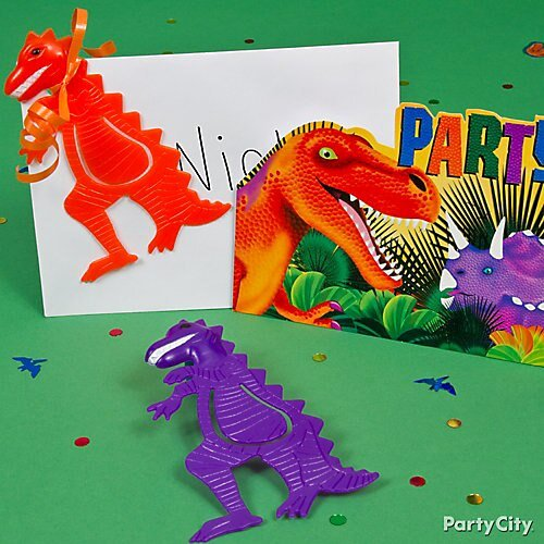 Party City Dinosaur Party Inspirational Prehistoric Dinosaur Invite with Favor Idea Invitation