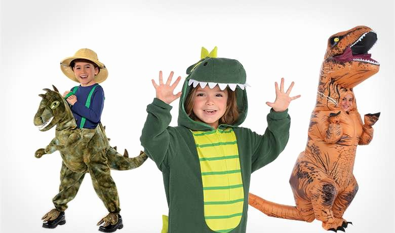 Party City Dinosaur Party New Dinosaur Costumes for Kids & Adults T Rex Costume