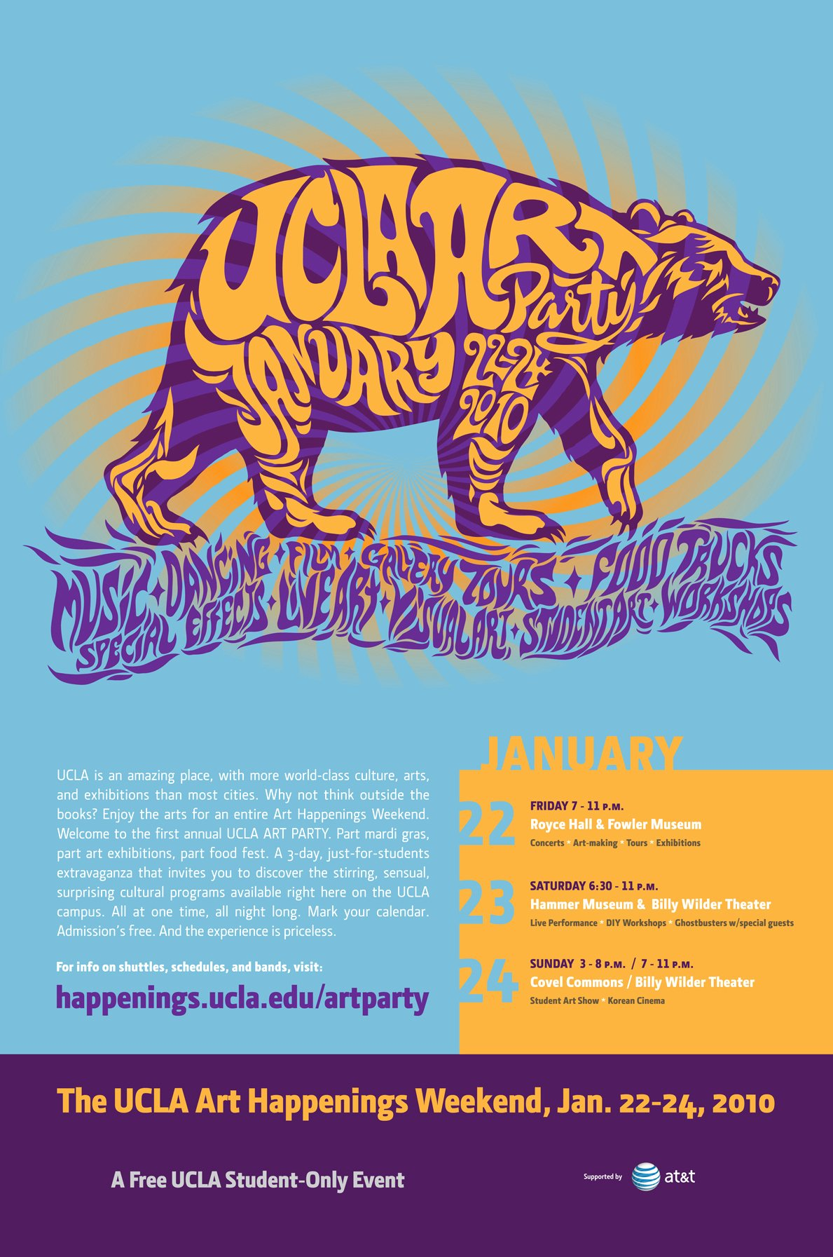 Party Poster Ideas Lovely Big Honkin Ideas – Ucla Art Party Poster