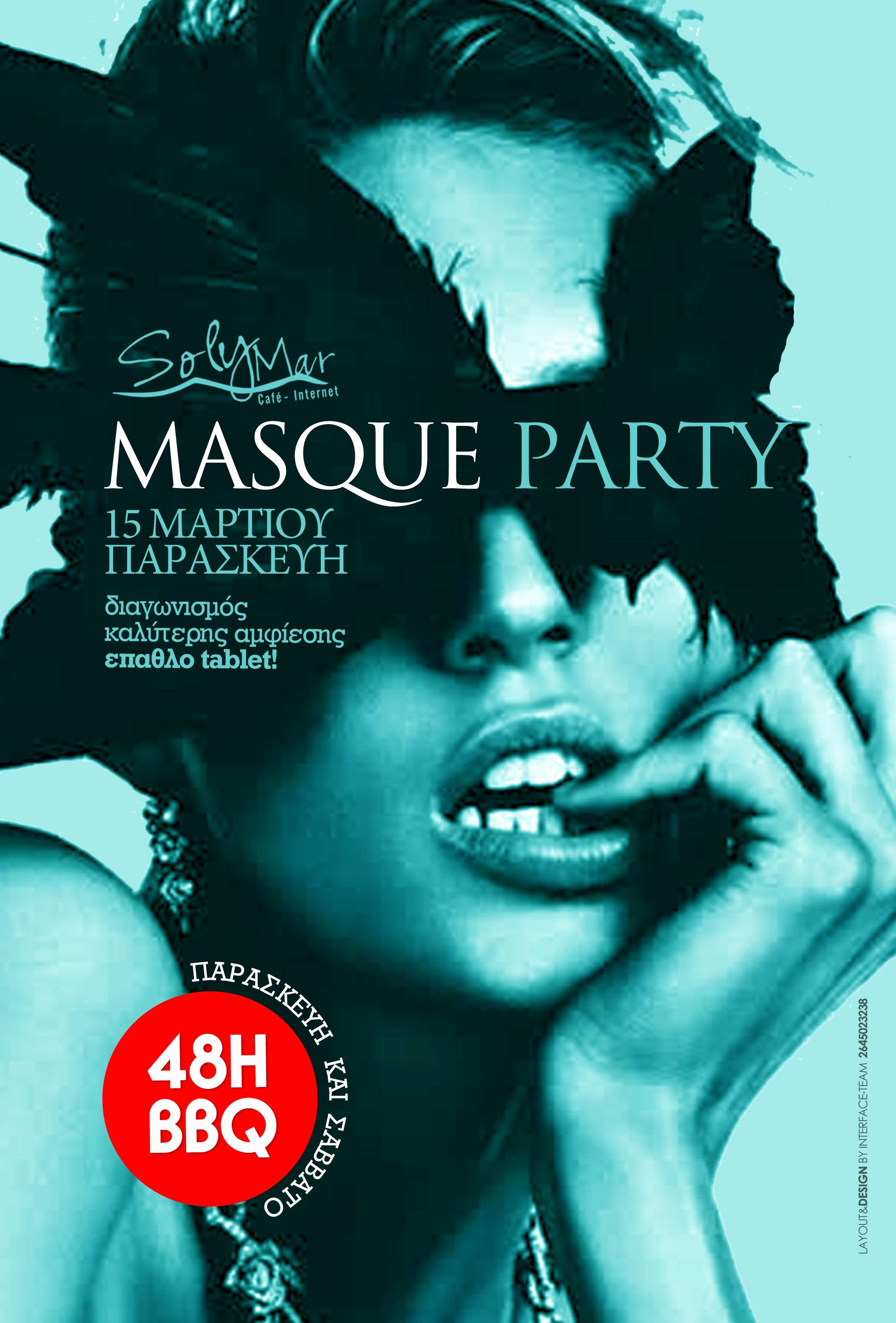 Party Poster Ideas Luxury Masque Party event Poster Fnk event Posters