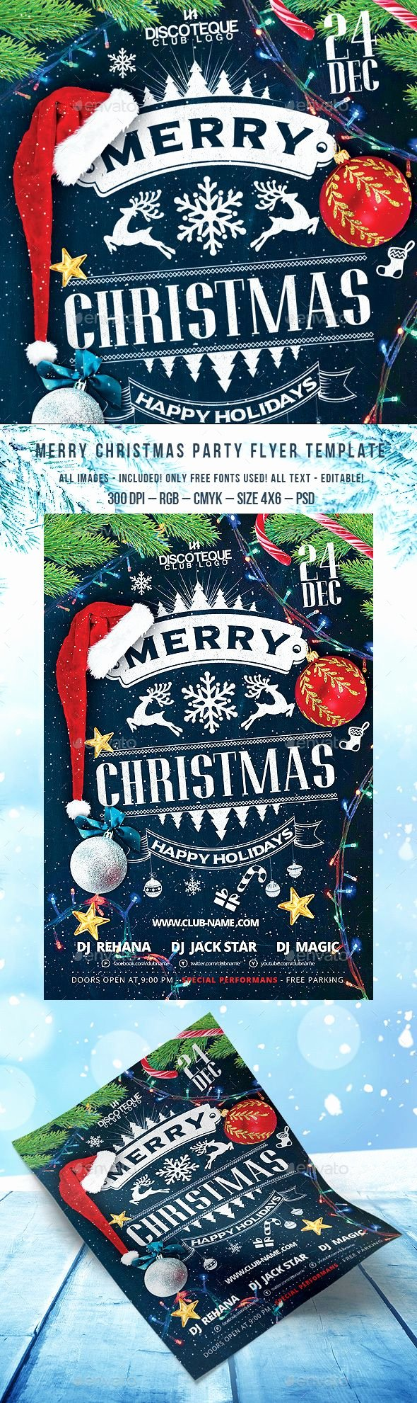 Party Poster Ideas New 25 Beautiful Christmas Flyer Ideas On Pinterest