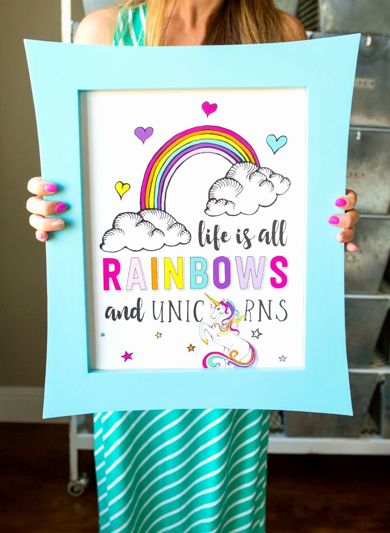 Party Poster Ideas New Unicorn Birthday Party Decorations by