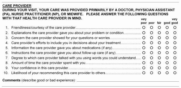 Patient Survey form Fresh About the Press Ganey Satisfaction Survey Lexington