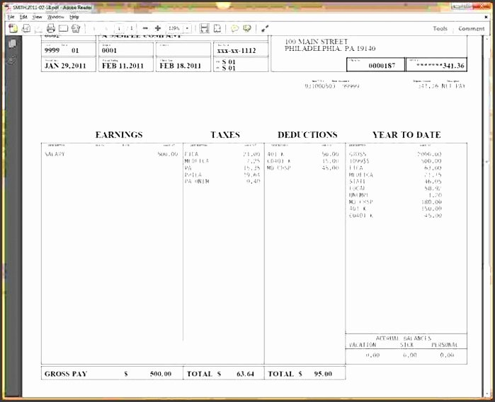 Pay Stub Template Word Beautiful 6 Free Pay Stub Template In Word Sampletemplatess