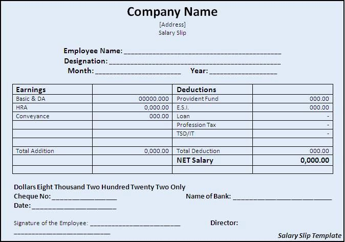 Payoff Statement Template Word Best Of Pin by Naveen Naveen On Salary Slip