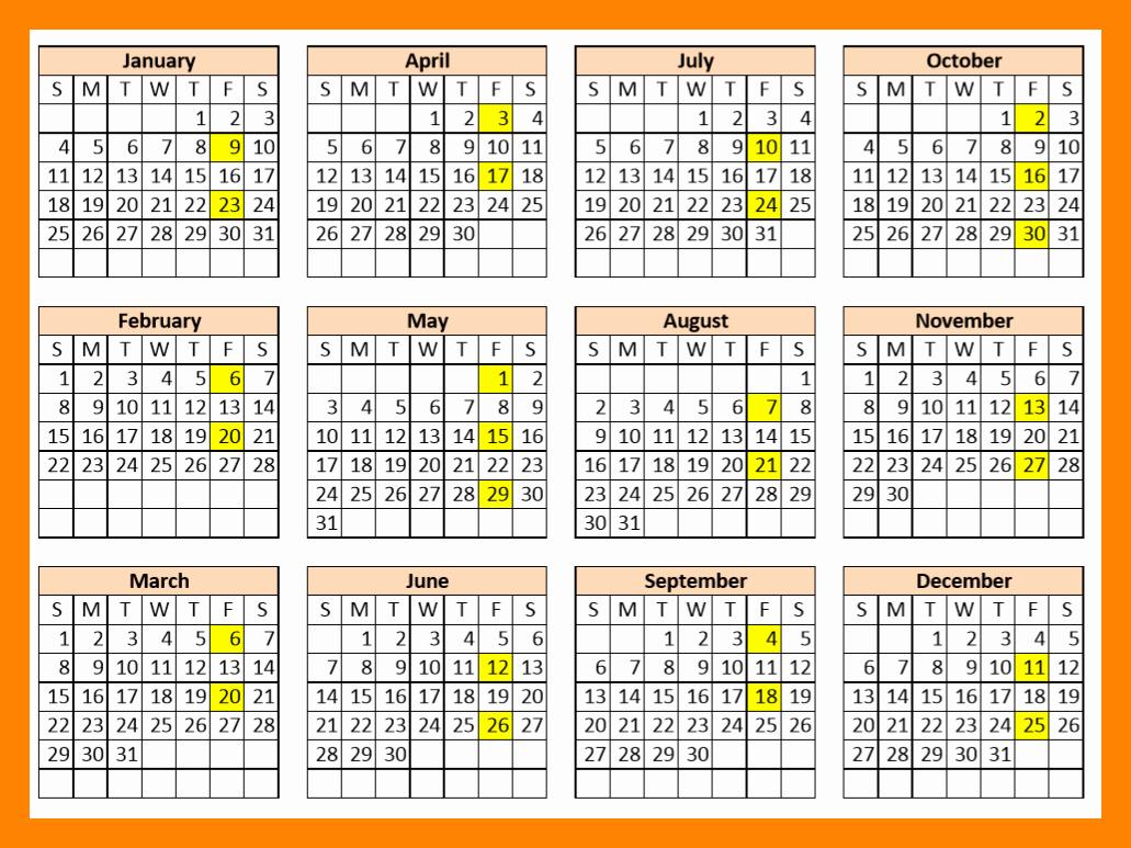 Payroll Calendar Template Elegant 12 2018 Biweekly Payroll Calendar