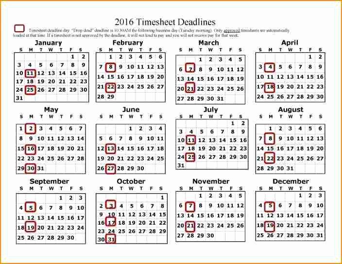 Payroll Calendar Template Fresh 12 Payroll Calendar Template 2017