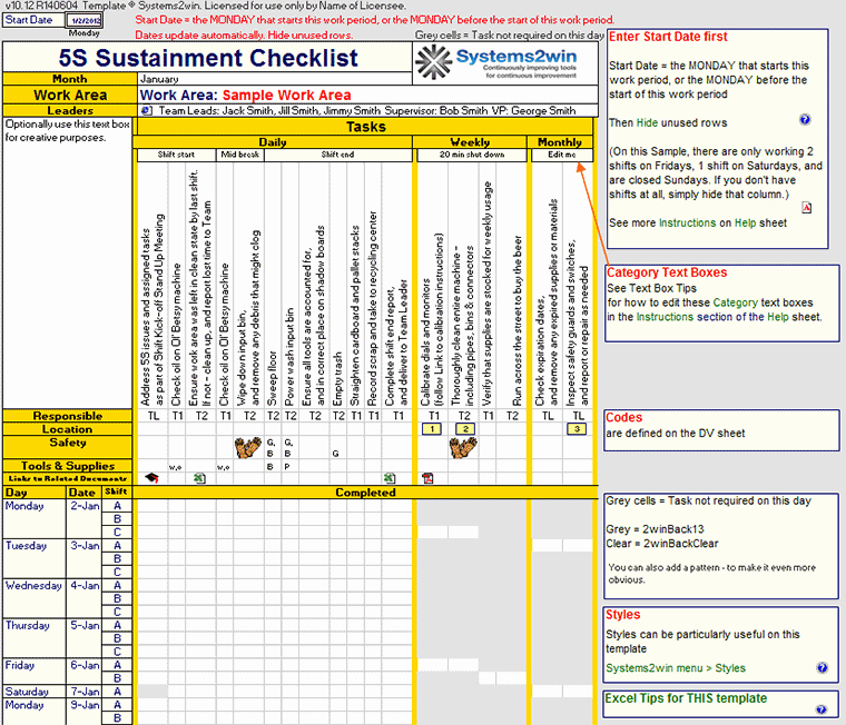 Pc Build Checklist Template Inspirational Preventive Maintenance Plan Sample