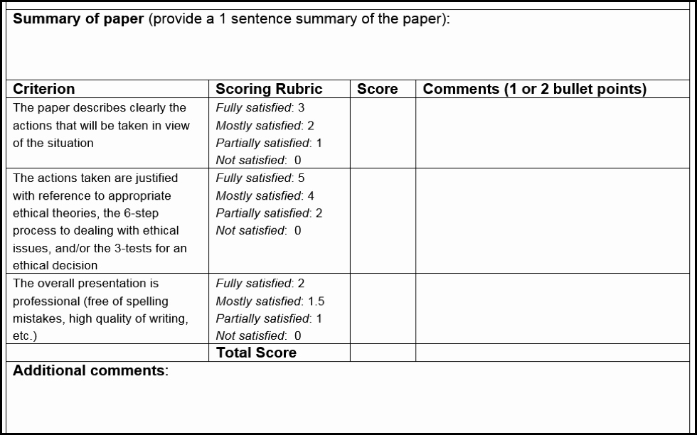 Peer Review Template Luxury Peer Review with 500 Students – Teaching for Learning