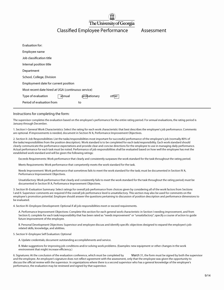 Performance Summary Example Beautiful 46 Employee Evaluation forms & Performance Review Examples